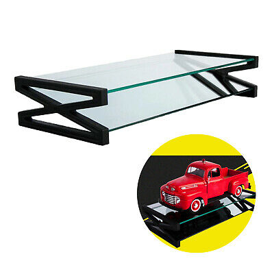 £15.35 • Buy 1/18 Scale Clear Display Stand Countertop Case For Model Cars Collectibles