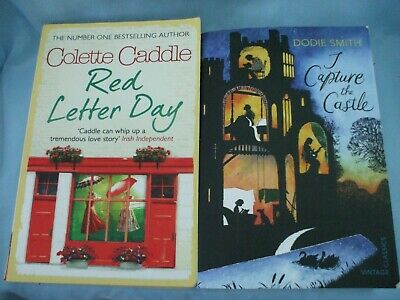 I Capture The Castle Dodie Smith & Red Letter Day Colette Caddle Paperback Books • 1.95£