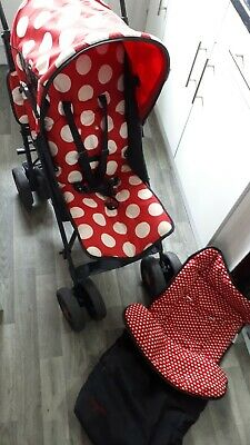 Baby/toddler Pushchair + Matching Cosy Toes • 25£