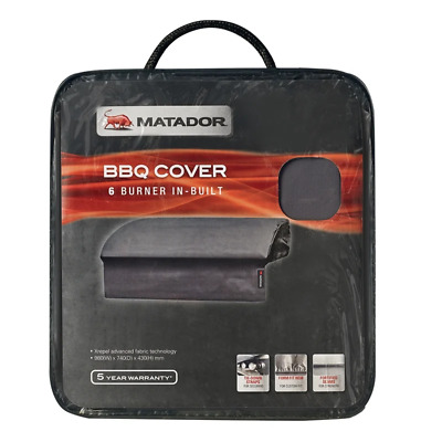 AU108.95 • Buy Matador BBQ Cover - 6 Burner Built-In