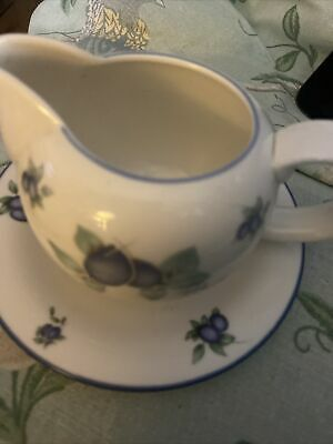 £16.50 • Buy Royal Doulton Everyday Blueberry Jug And Saucer 1204 U.K. P/p Included