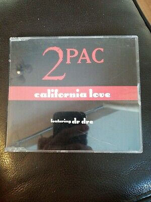 2Pac Featuring Dr Dre - California Love - CD Single - 4 Track CD With Mixes  • 1.49£