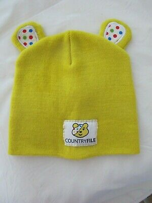 Pudsey Beanie Hat - Yellow - Adult/older Child - Countryfile/Peter Storm - VGC • 4.45£