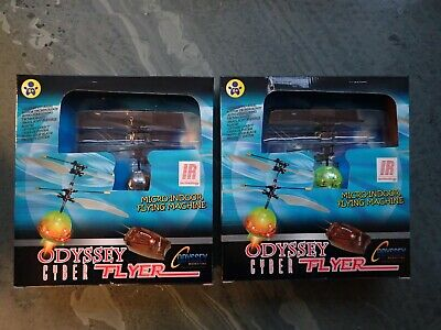 £15 • Buy Odyssey Twin Pack Cyber Fly Micro-copters. Brand New. Mint Condition