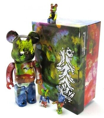 $644.45 • Buy Bearbrick Pushead 400% & 3x 100% Year 2018