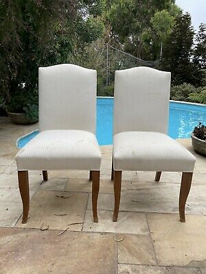 AU180 • Buy French Provincial Dinning Room Chairs X 6