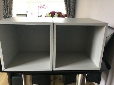 Ikea EKET Storage Box Wall Shelf Display Cabinet Unit NEW X 2 • 55£