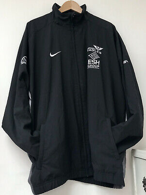 Nike Newcastle Eagles Basketball Track Jacket Tracksuit Top Black Size 3XL • 24.97£