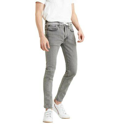 Levi Lot 519 Men's Jeans – W32 – Colour Grey • 19.99£