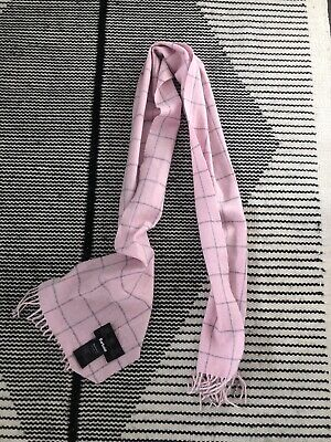 BARBOUR Pink Lambswool Scarf • 4£