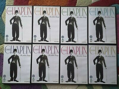 £12 • Buy Charlie Chaplin Collection Volume 1 To 8 Dvd