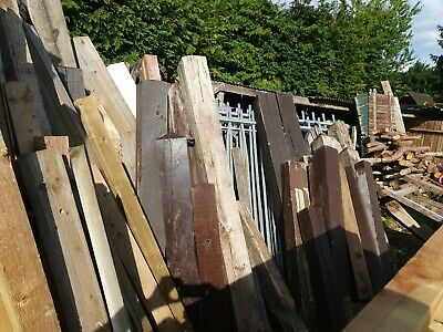 £20 • Buy Old Oak And Soft Wood Gate Posts