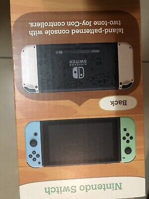 AU546 • Buy BRAND NEW Nintendo Switch Console Animal Crossing New Horizons Edition IN STOCK