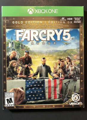 AU182.46 • Buy Far Cry 5 GOLD Edition STEELBOOK Package (XBOX ONE) NEW
