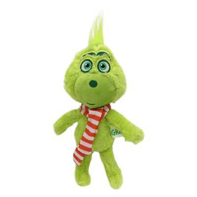 £4.78 • Buy 12  Scarf Grinch Plush Toy Dr-Seuss How The-Grinch Stole Christmas.Stuffed Doll*