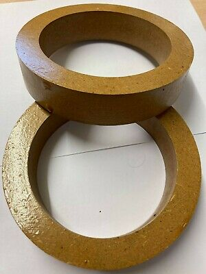 £7.99 • Buy 5  127mm MDF Speaker Spacer Mounting Rings 31mm Thick ID 117mm ED 150mm Pair