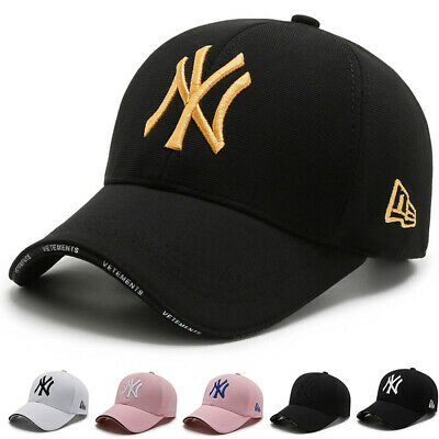 Unisex Mens Womens Baseball Cap Adjustable NY2 Snapback Sport Hip-Hop Sun Hat • 5.99£