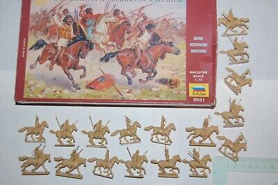 Toy Soldiers Zvezda Russia - 34 Pieces In 1/72 - Carthaginian Numidian Cavalry • 10.13£