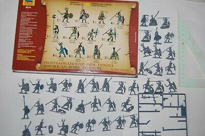 Toy Soldiers Zvezda Russia - 40 Pieces In 1/72 - Republican Roman Infantry • 6.51£