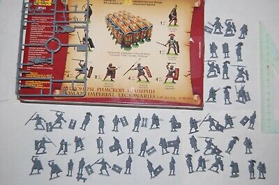 Toy Soldiers Zvezda Russia - 53 Pieces In 1/72 Legionnaires Of The Roman Empire • 6.51£