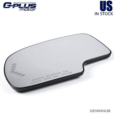 $14.50 • Buy For Chevy Yukon Suburban Avalanche Driver Side Mirror Glass Left Hand LH Heated