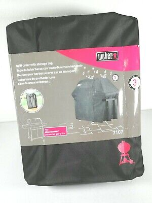 $ CDN60.30 • Buy WEBER Gas Grill Cover For Genesis 300 Series BBQ Grills Weber 7107, Black