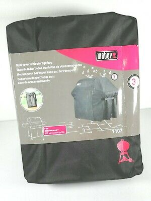 $ CDN60.76 • Buy WEBER Gas Grill Cover For Genesis 300 Series BBQ Grills Weber 7107, Black