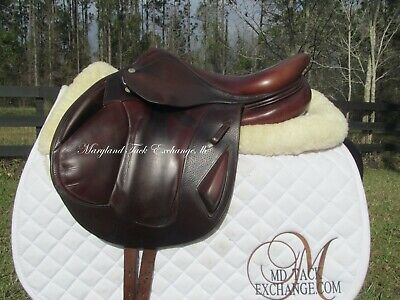 $ CDN3644.82 • Buy 15.5  CWD SE04 MONOFLAP Child Pony Cross Country Jumping Saddle-2011 MODEL-RARE!