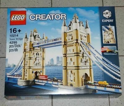 Lego Creator Expert 10214 Tower Bridge - Brand New Sealed *Worldwide Shipping* • 499£