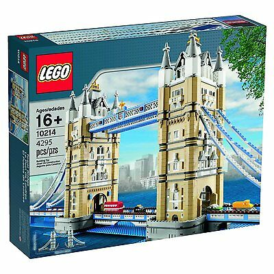 Lego Tower Bridge 10214 - FACTORY SEALED *WORLDWIDE SHIPPING* • 399£
