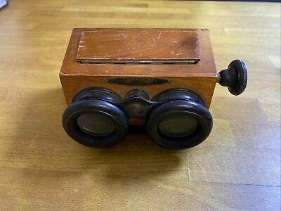 £149 • Buy Antique Stereo Viewer UNIS-FRANCE Stereoscope Paris