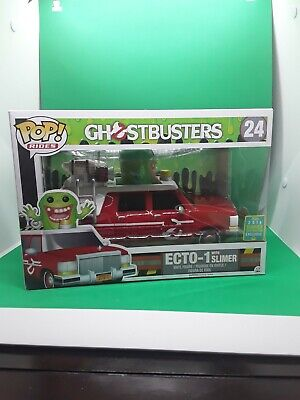 Funko Pop ECTO-1 With Slimer #24 Ghostbusters [2016 Summer Convention] • 35£