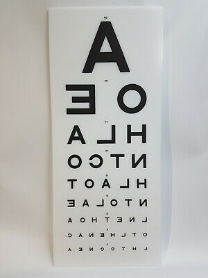 Eye Test Chart Light Box Replacement Main Front Cover Opticians Display A • 44.99£