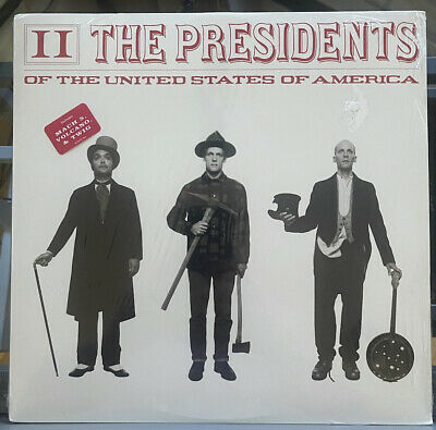 Presidents Of The United States Of America - 2 II - Sealed New Vinyl LP Original • 89.61£