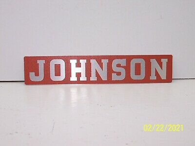 AU39.95 • Buy Vintage Johnson Outboard Motor Stand Aluminum Tag!