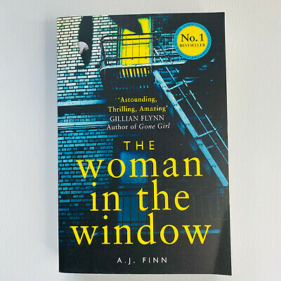 AU15 • Buy The Woman In The Window By A.J. Finn Paperback Book Thriller & Amazing Free Post