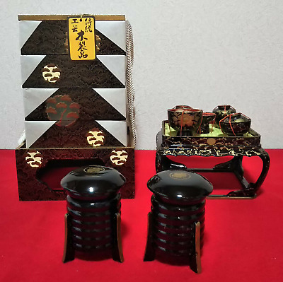 £35.95 • Buy Miniature Furniture Japanese Antique Dishes Lunch Box