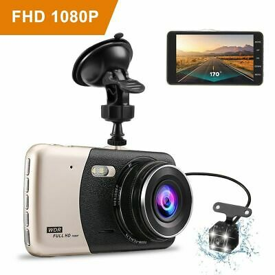AU65.99 • Buy Dash Camera For Cars Dash Cam Car Camera 4 Inch IPS Screen Full HD 1080P Camera