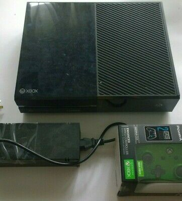 AU190 • Buy Xbox One Console 500GB Microsoft Black TESTED NEW POWER SUPPLY AND NEW CONTROLL