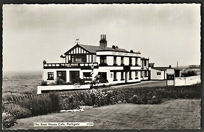 £5.95 • Buy PARKGATE P.c. The Boat House Cafe With Red Cross Centenary Franking