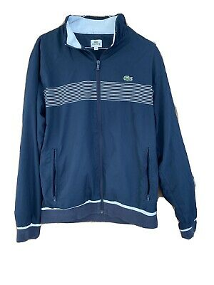 Mens Lacoste Tracksuit Top Size 4 Medium/large • 15£