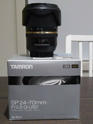 AU222.50 • Buy Tamron SP 24-70mm F/2.8 Di USD Lens For Sony Minolta A Mount A007S