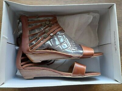 Nine West Brown Suede Gladiator Sandals Size 7 Rrp £95 • 4.30£