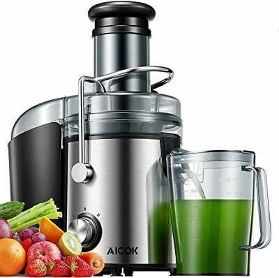 Juicer Machines 800W Juicer Extractor Quick Juicing For Whole Fruit And Silver • 79.60£