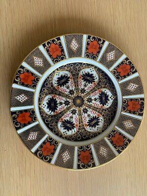 ROYAL CROWN DERBY Imari 1128 Dinner Plate,27 Cms / 10 1/2 Inches Second Quality • 31£