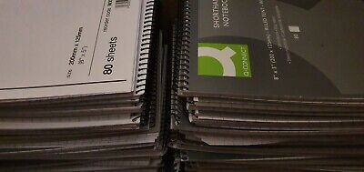 £16.99 • Buy 50 X Shorthand Books Joblot Pads Office Notebook Lined HUGE STOCK CLEAR-OUT