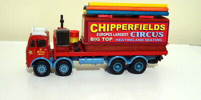 $ CDN72.63 • Buy Corgi Code 3 Chipperfields Circus Erf 8 Wheeler Big Top Heating And Seating