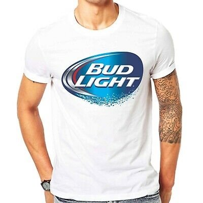 $ CDN25.15 • Buy Bud Light Lager Beer Budweiser King Of Beers Since 1876 Men's T-Shirt Size S-3XL
