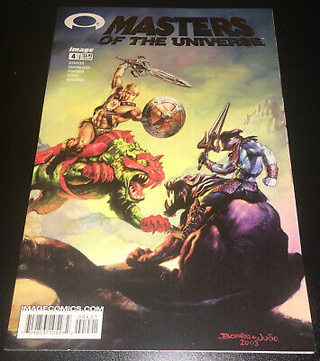 $4.99 • Buy MASTERS OF THE UNIVERSE #4 Image Comics GOLD LOGO Variant 1ST PRINT
