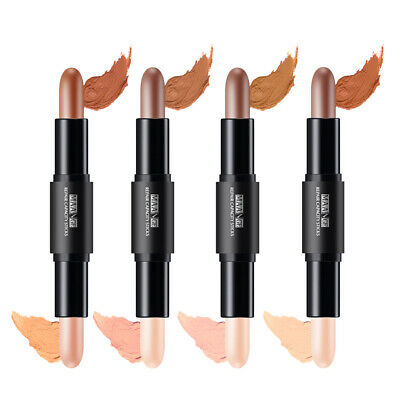Highlighter Bronzer Powder Pen Stick For Facial Eyes Nose Concealer Comestic • 4.27£